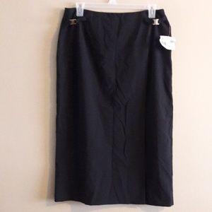 NWT Work Professional Midi Skirt